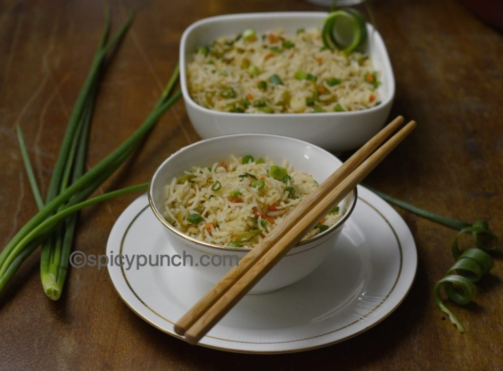 Veg Fried Rice Recipe Stir Fried Vegetable Rice Chinese Fried Rice Recipe