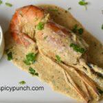 creamy jumbo prawn recipe