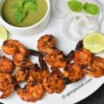 tandoori prawns recipe